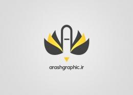 طراحی لوگو آرش گرافیک