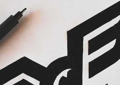 اتود لوگو با مفهوم پریدن و پرواز
