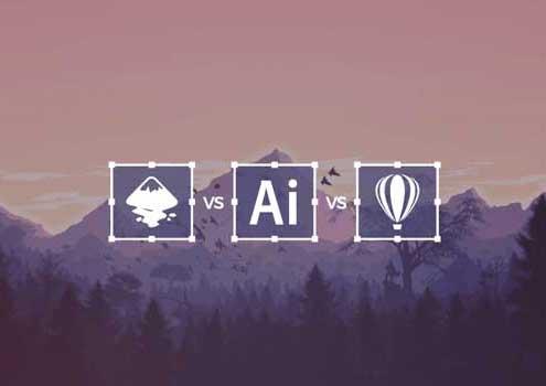 لوگویِ نرم افزارهای طراحی گرافیک